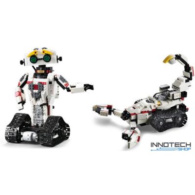 Double Eagle kirakós távirányítós 2in1 robot - skorpió (710 db, 28,1 cm 2.4GHz) RC építőkocka játék szett EE Double E CaDa (C51027W) (lego technic kompatibilis)