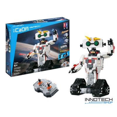 Double Eagle távirányítós építőkészlet játék szett RC 2in1 robot - skorpió (710 db, 28,1 cm 2.4GHz) EE Double E CaDa (C51027W) (lego technic kompatibilis)