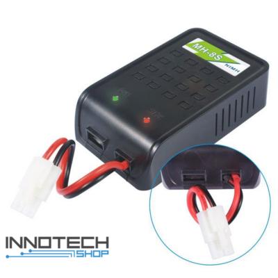 NQD Rock Crawler 1:12 fali EU hálózati 220V akkumulátor töltő 1A balanszeres akku töltő NiMh / NiCd
