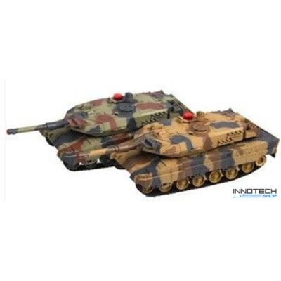 UF 558 1:16 (38cm) RC tank csata szett életerővel infra lövéssel Abrams vs Abrams (UniFun távirányítós játék 2db amerikai Abrams) RTR