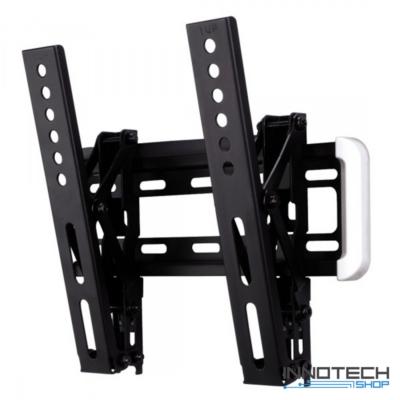 Hama L 200 x 200 dönthető falitartó - fekete (fali LCD TV tartó konzol) (118633)