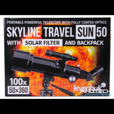 Levenhuk Skyline Travel Sun 50 teleszkóp - 71996