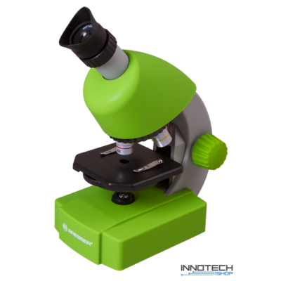 Bresser Junior 40x-640x mikroszkóp, zöld - 70124
