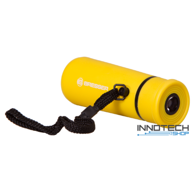Bresser Topas 10x25 egyszemes távcső, sárga - 69375