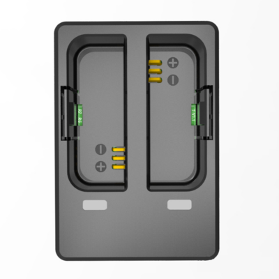 SJCAM akció kamera dupla akkumulátor töltő keret USB SJ6 Legend / SJ6 Air kamerákhoz