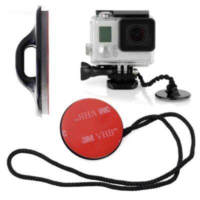 SJCAM / GoPro akció kamera biztonsági rögzítő tartó elem 3M öntapadós talppal SJ/GP-22 SJ GP-22