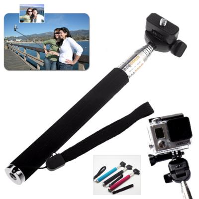 SJCAM / GoPro akció kamera teleszkópos selfie szelfi bot monopod fekete extra nagy 1,1 m Fekete SJ/GP-61 SJ GP-61