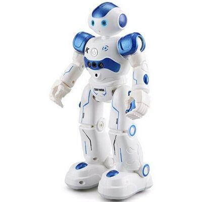 JJRC R2 CADY WIDA RC intelligens távirányítós játék robot 26.5cm interaktív programozható okosrobot - kék