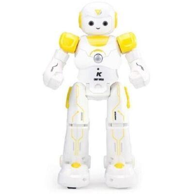 JJRC R12 CADY WISO RC intelligens távirányítós játék robot 27cm interaktív programozható okosrobot - sárga