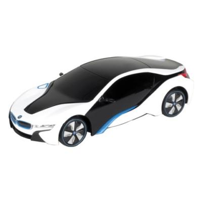 RC BMW i8 Concept távirányítós autó 1/24 fehér-fekete - Mondo