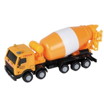 City Truck: Betonkeverő teherautó modell 1/64 - Mondo Motors