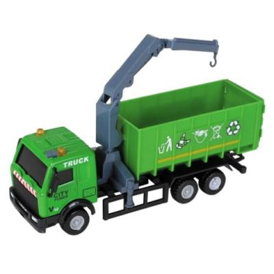 City Truck: Szelektív hulladékgyűjtő teherautó modell 1/64 - Mondo Motors