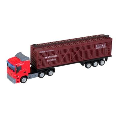 City Truck: Scania élőállat szállító kamion modell 1/64 - Mondo Motors