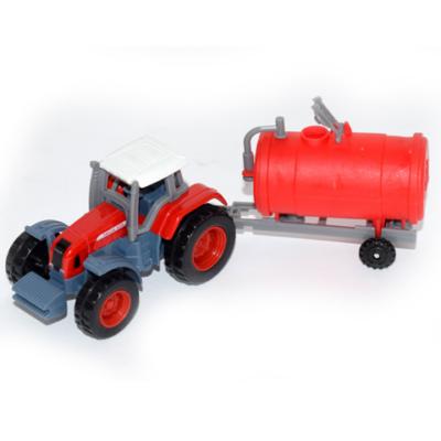Traktor tartálykocsival modell 1/72 - Mondo Motors