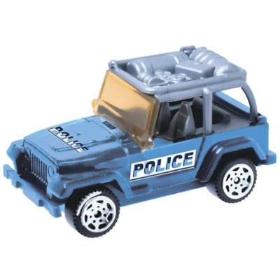 Security: Police Jeep kisautó 1/64 - Mondo Motors