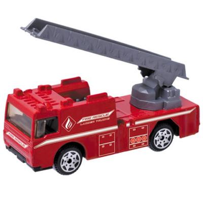 Security: Tűzoltósági létrásautó 1/64 - Mondo Motors