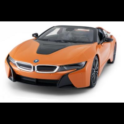 BMW i8 Roadster 1:12 39cm távirányítós modell autó Rastar 95500 RTR modellautó - narancs
