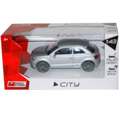City Collection: Audi A1 szürke kisautó 1/43 - Mondo
