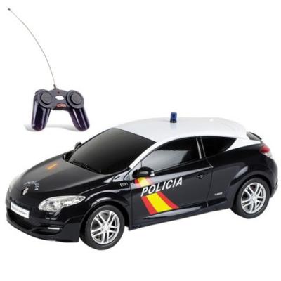 RC Renault Megane RS Policia távirányítós autó 1/24 - Mondo Motors