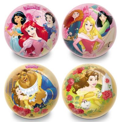 Disney Hercegnők gumilabda 14cm kétféle változatban