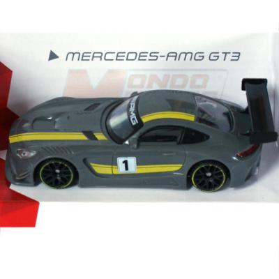 Super Fast Road: Mercedes-AMG GT3 fém autómodell 1/43 - Mondo Motors
