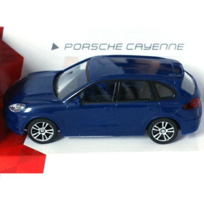 Super Fast Road: Porsche Cayenne kék fém autómodell 1/43 - Mondo Motors