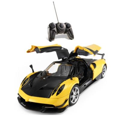 RC Pagani Huayra távirányítós autó 1/14 sárga - Mondo Motors