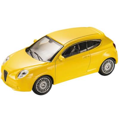 Alfa Romeo Mito sárga kisautó 1/43 - Mondo Motors