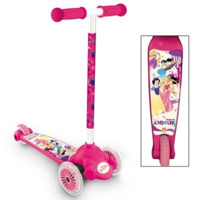 Disney Hercegnők Twist&Roll háromkerekű roller - Mondo Toys