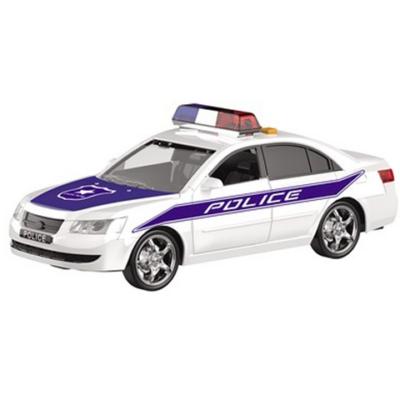 Hátrahúzós rendőrautó fénnyel és hanggal 25cm - Mondo Motors