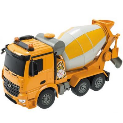 RC Mercedes Arocs távirányítós betonkeverő teherautó 1:20 fénnyel és hanggal 2,4GHz