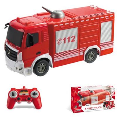 Mercedes Antos távirányítós tűzoltóautó 1/26 - Mondo Motors