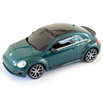 Volkswagen Beetle zöld távirányítós autó 1/24 - Mondo Motors