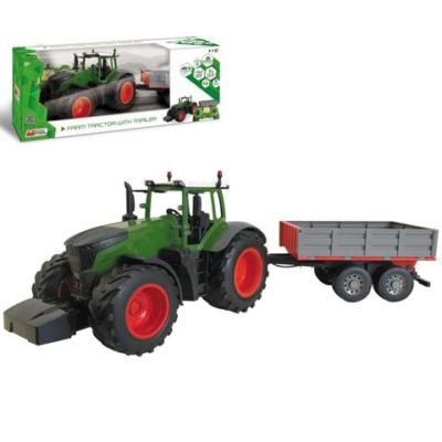 Távirányítós Farm traktor utánfutóval 1/16 - Mondo Motors