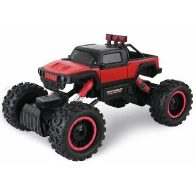 Rock Crawler HB-P1404 Off Road Buggy Hummer 4WD 15km/h sebességű 1:14 33cm RC távirányítós autó (15 km/h HB P1404 versenyautó) - piros