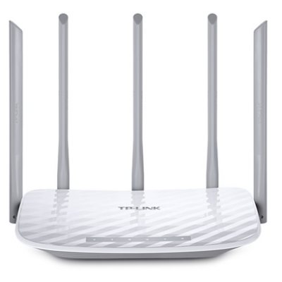 TP-LINK Wireless Router Dual Band AC1350 1xWAN(100Mbps) + 4xLAN(100Mbps), Archer C60 (226698)