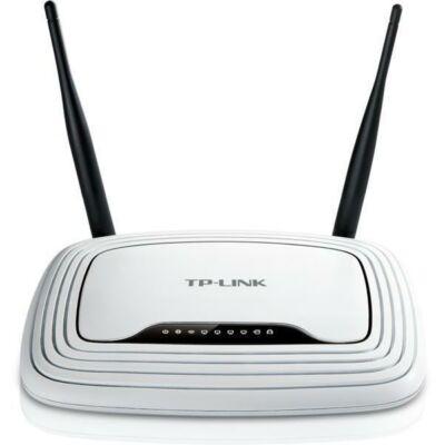 TP-LINK Wireless Router N-es 300Mbps 1xWAN(100Mbps) + 4xLAN(100Mbps), TL-WR841N (121311)