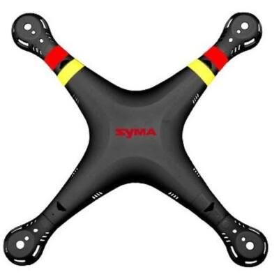 Syma X8 alsó - felső drón ház X8HW X8HC X8HG (fekete alsó - felső drón váz burkolat test)
