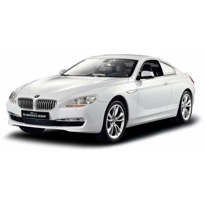 BMW 6 1:14 35,1cm távirányítós modell autó Rastar 42600 RTR modellautó - fehér