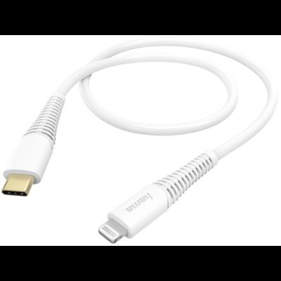 Hama adatkábel Lightning - USB Type - C, 1,5 m - fehér (183309)