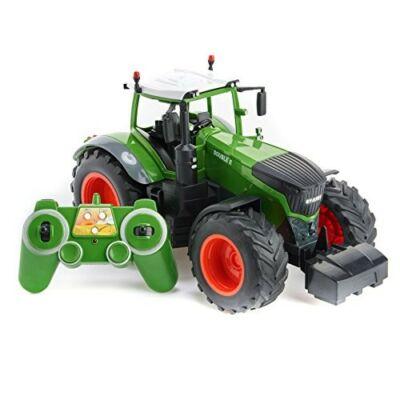 Távirányítós óriás traktor 37,6 cm 1:16 RC játék munkagép Double Eagle E351-003 RTR EE Double E