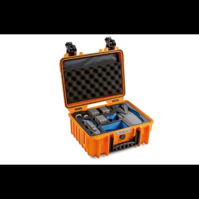 B&W koffer 3000 narancssárga DJI Mavic 2 (Pro/Zoom) modellhez (31920)