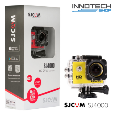SJCAM SJ4000 sportkamera - SÁRGA (SJ4000Y)
