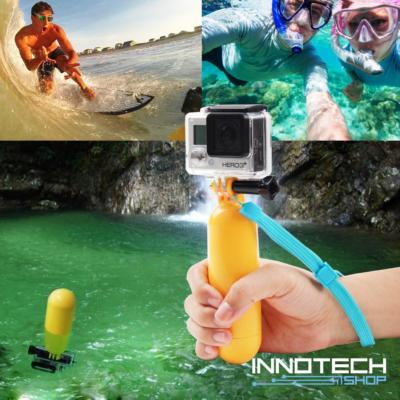 SJCAM / GoPro úszóbója Bobber SJ/GP-69 (vízi lebegő akció kamera rögzítő tartó markolat SJ GP-69)