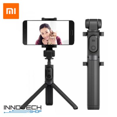 Xiaomi Mi Selfie Stick Tripod - állvány és monopod szelfi bot levehető bluetooth kioldógombbal (XMZPG01YM) - fekete