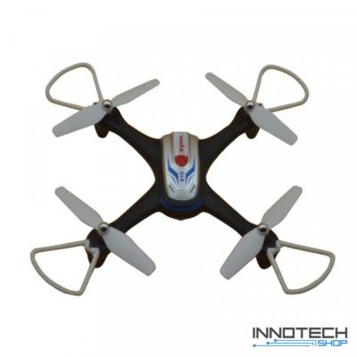 Syma X15A drón quadcopter 28.9cm 2.4GHz (magyar útmutatóval légnyomásérzékelő automata magasságtartással) - fekete