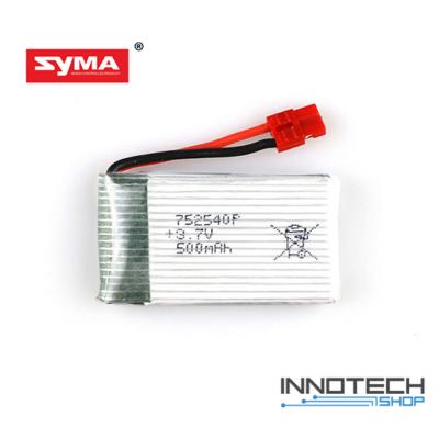 SYMA X5HW X5HC drón kompatibilis gyári akku akkumulátor (3,7V 500 mAh li-po)