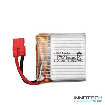 Syma X21 X21W gyári akkumulátor 380 mAh 3.7V LiPo akku (X21W-10)