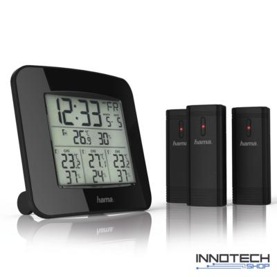 Xavax EWS-TRIO időjárás állomás 3 külső érzékelő (136293)