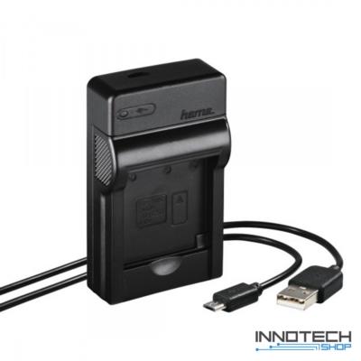 Hama Travel usb akkumulátor töltő - Nikon EN-EL19 akku töltő (81392)